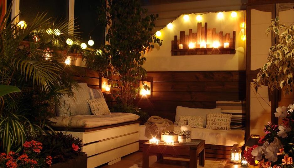 Romance sur la terrasse