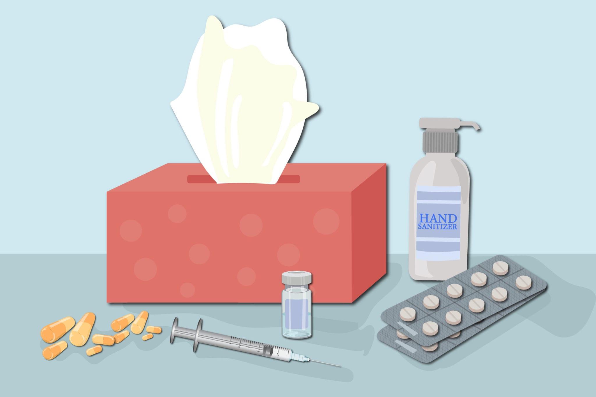 Symptômes du coronavirus: les antibiotiques ne fonctionnent que sur les bactéries. Ils ne fonctionnent pas contre les virus.