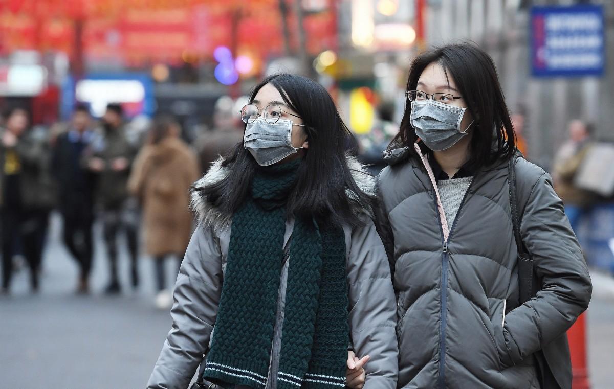 Le peuple chinois au début de l'épidémie de coronavirus