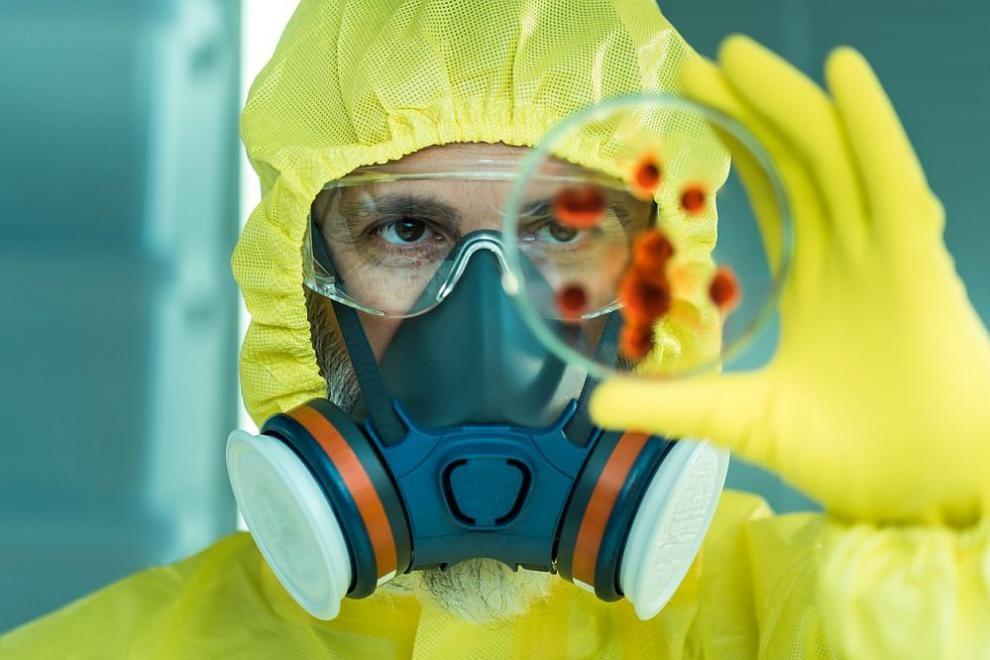 Matériel de protection contre les coronavirus dans les laboratoires