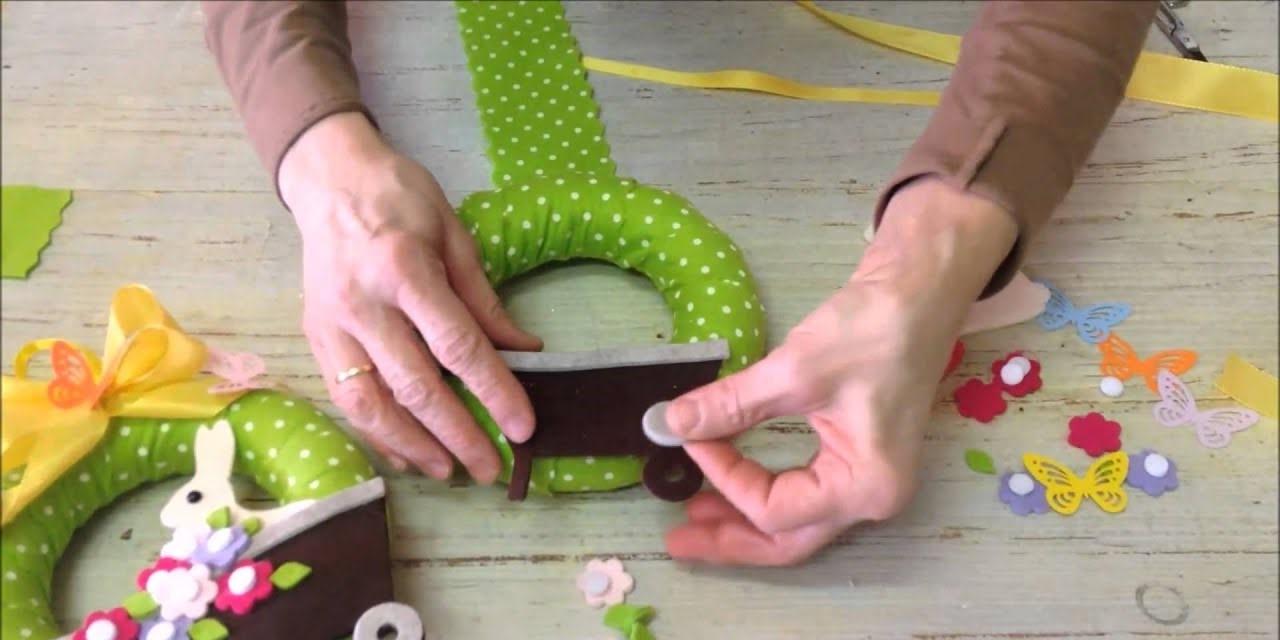 Comment faire une couronne de Pâques sur vous-même avec du papier