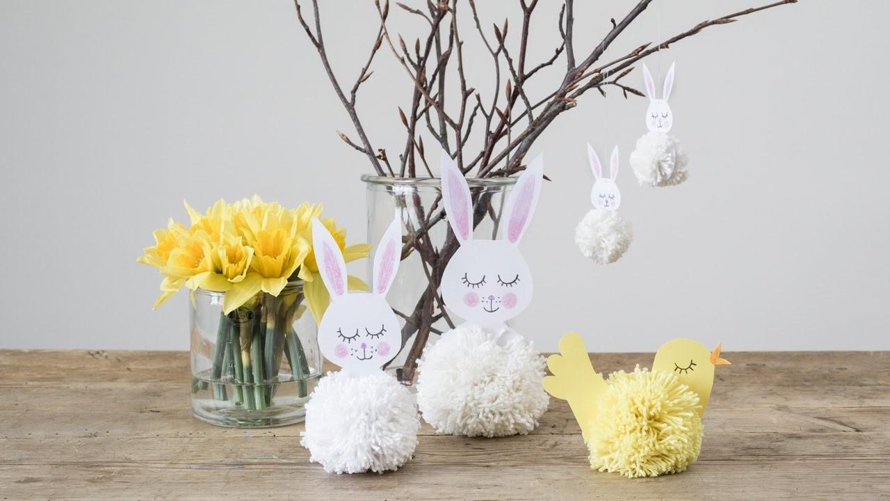 Projet bricolage mignon pour Pâques.