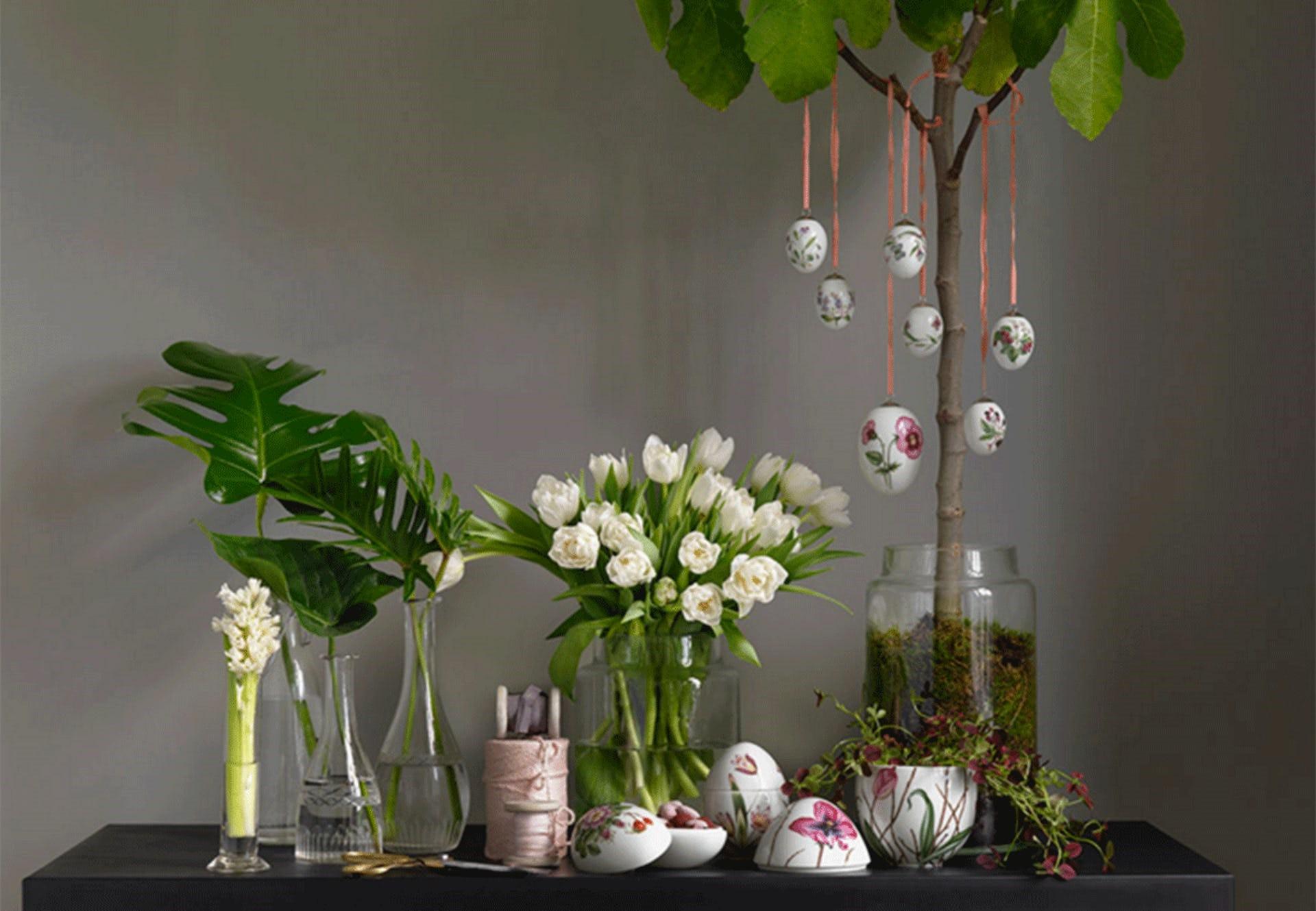 Les fleurs sont la meilleure décoration printanière.