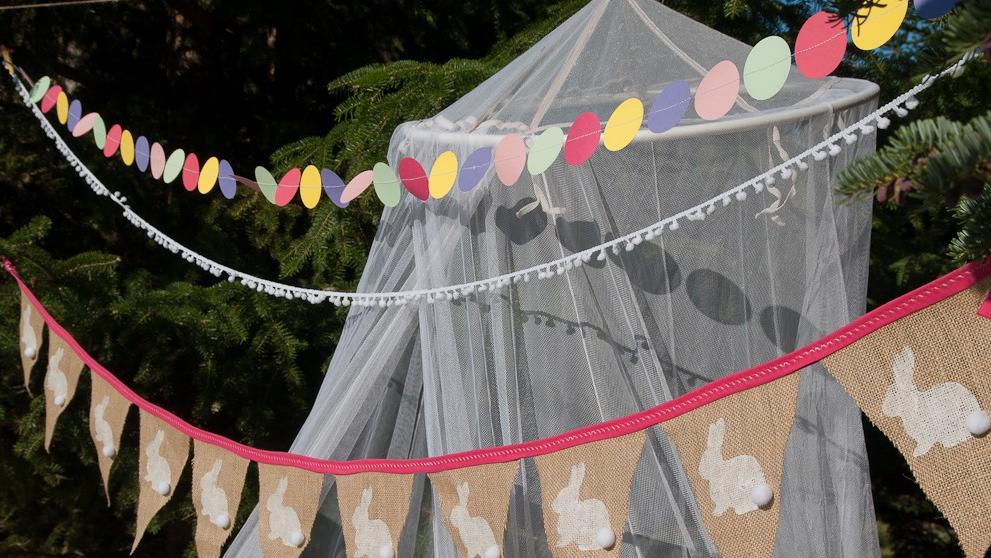 Guirlandes de décoration de Pâques