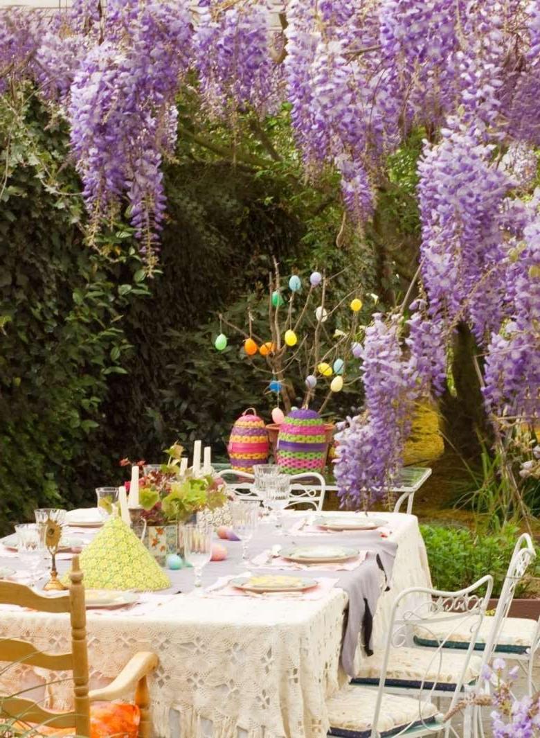 Décoration Garden Party pour Pâques