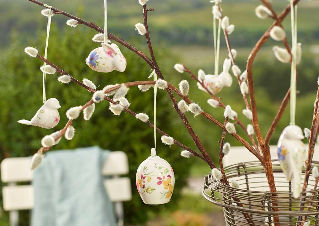 Excellente idée pour la décoration de Pâques