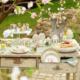 Idée de décoration de jardin de Pâques