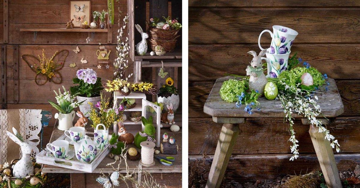 Deux idées de décoration de Pâques