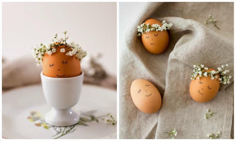 Dessinez des visages mignons sur les coquilles d'œufs - cela les transformera complètement!