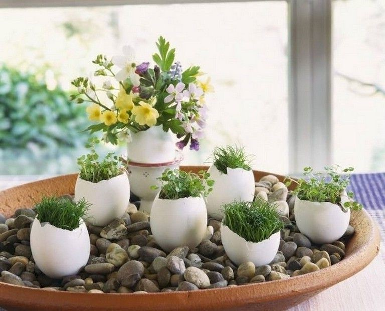 Faites un petit jardin chez vous avec ces décorations créatives.