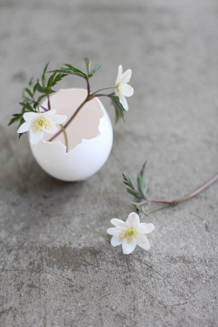 Mini vase à fleurs DIY.