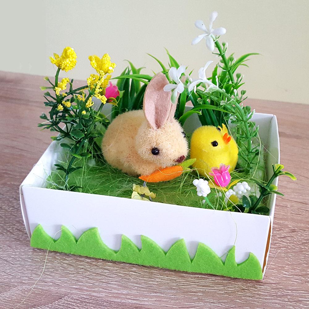 Décoration de Pâques - Jardin de printemps