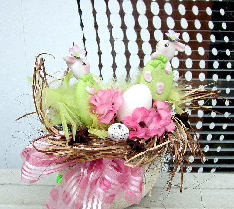 Décoration de Pâques - bouquet de vacances