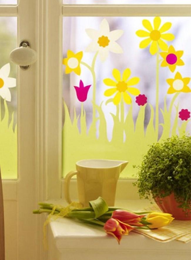 Décoration de Pâques - décoration en verre