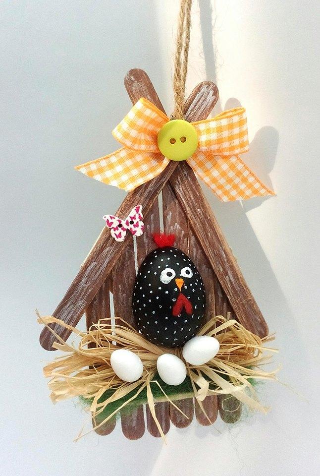 Décoration de Pâques - décoration suspendue