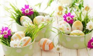Décoration de couleur oeuf de Pâques