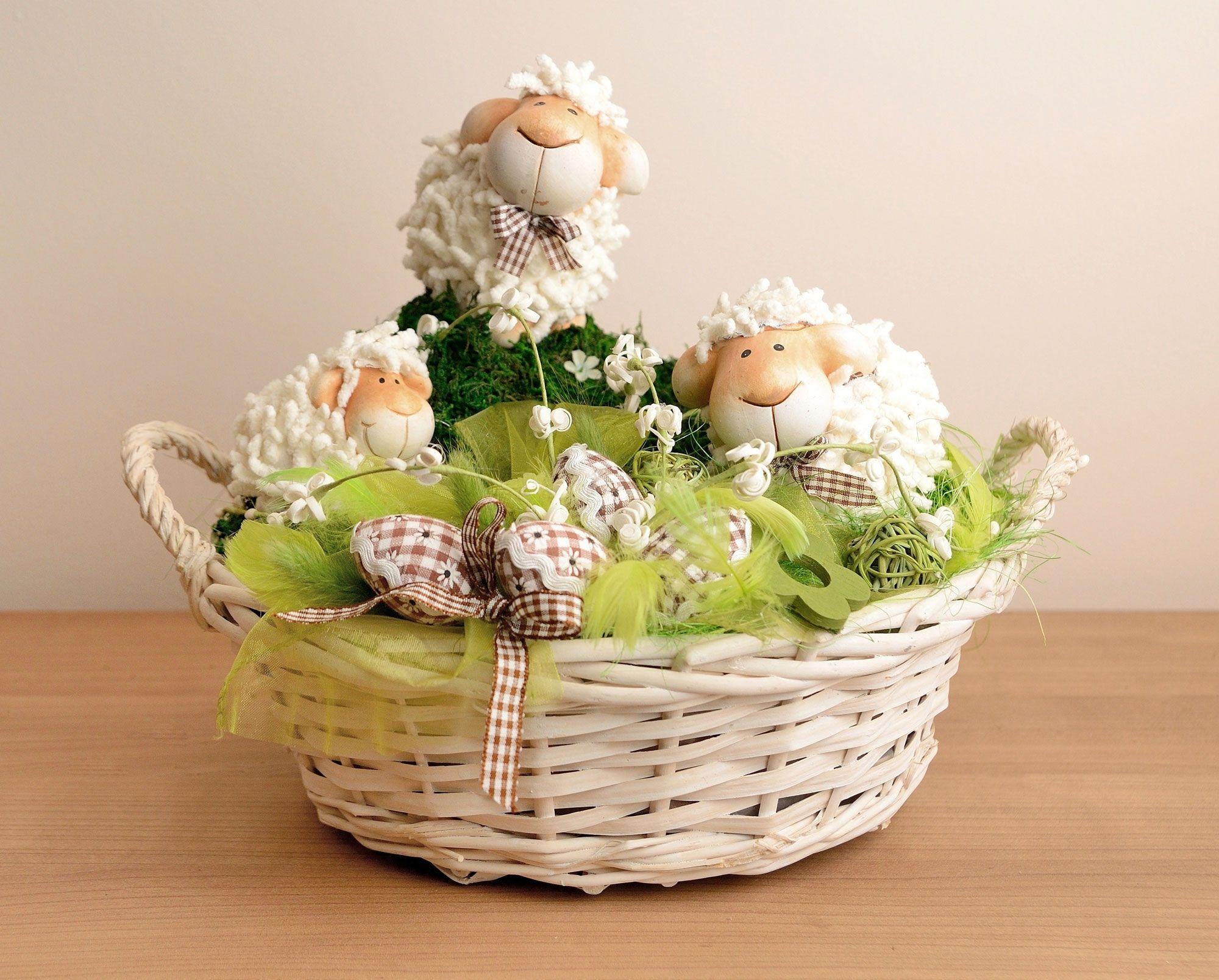 Décoration de Pâques - panier