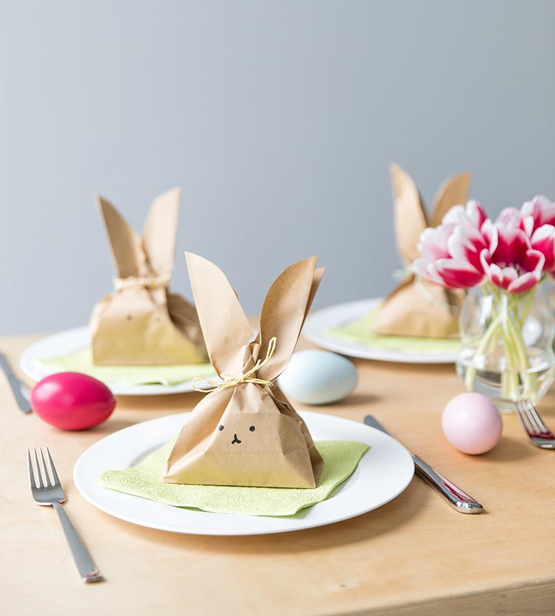 Décoration de Pâques - cadeaux pour les invités