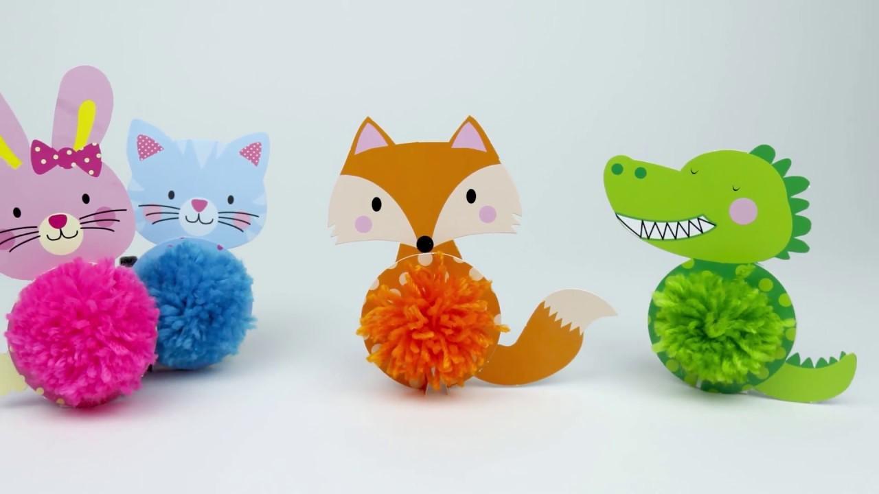 Vous pouvez facilement créer un lapin, un chat, un renard et un crocodile.
