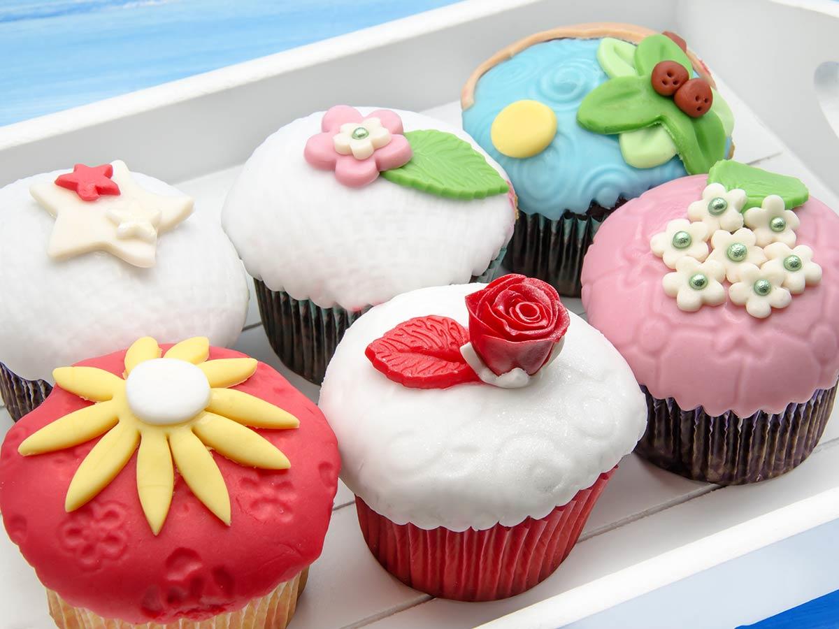 Dessert de Pâques - muffins joliment décorés