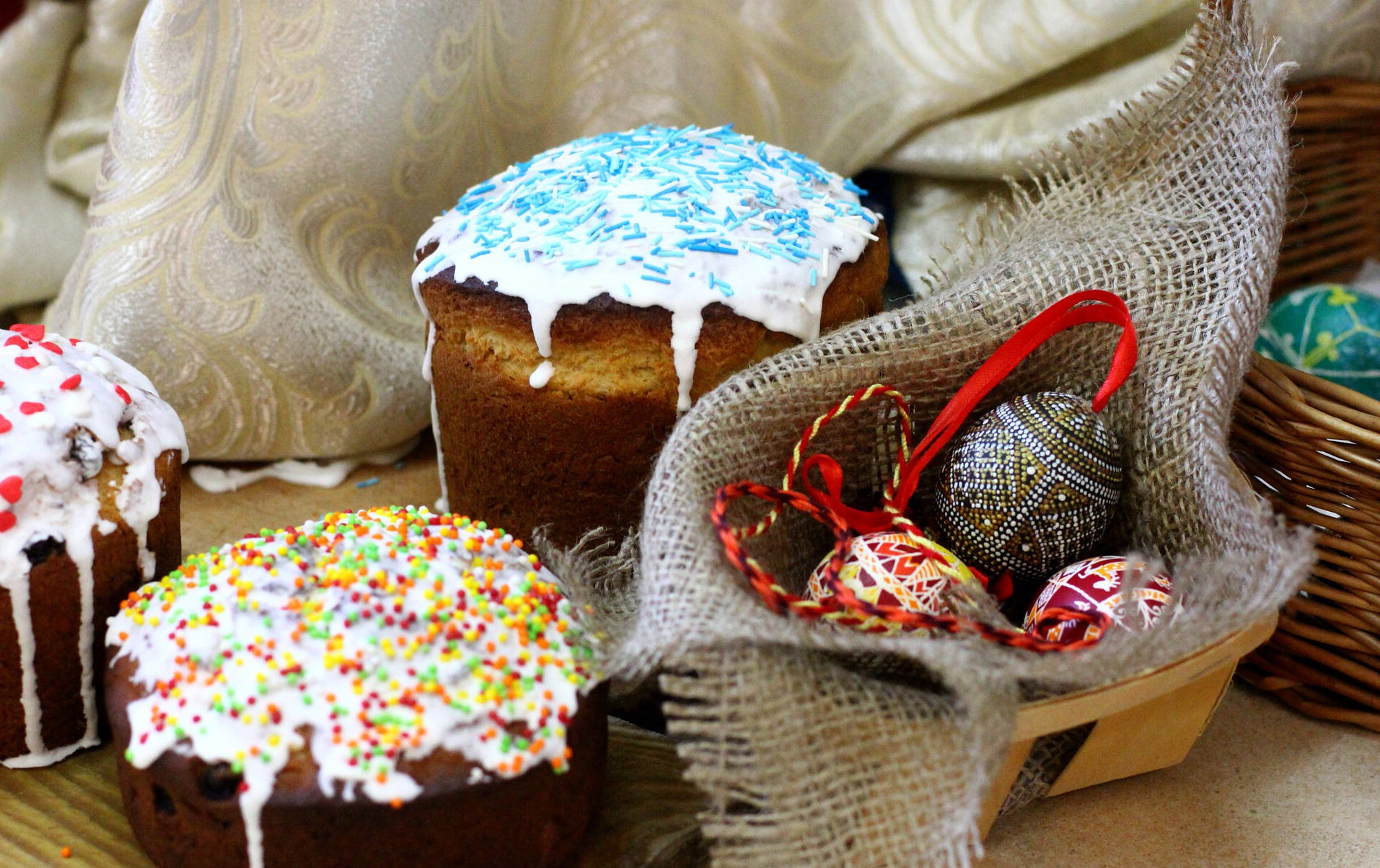 Dessert de Pâques - mini gâteaux au chocolat