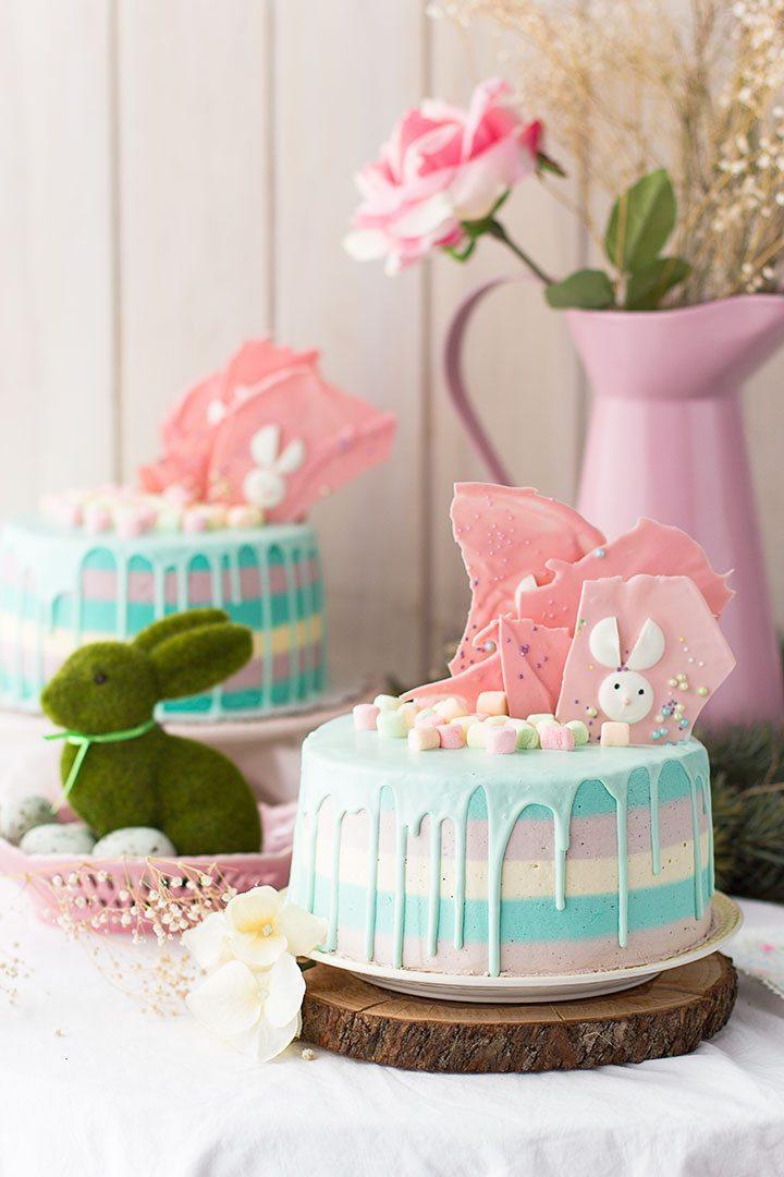 Dessert de Pâques - gâteau sucré au chou et à la vanille