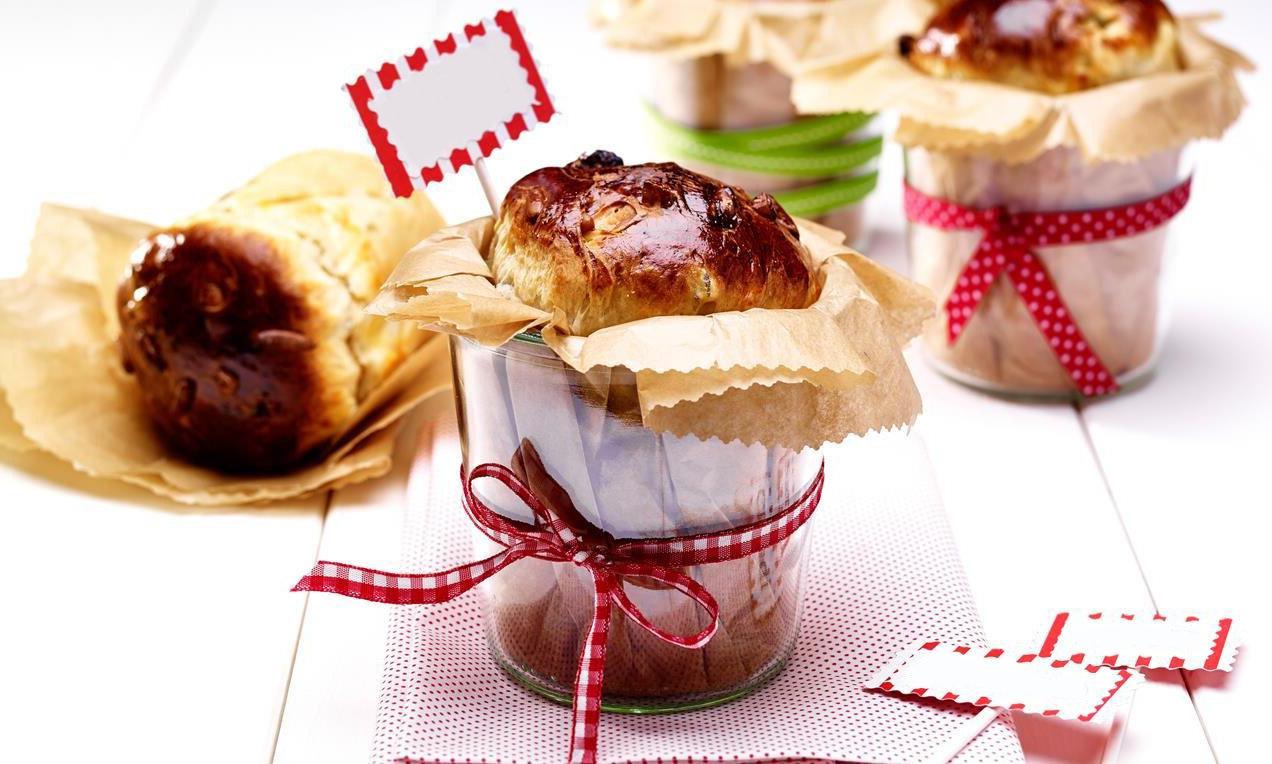 Dessert de Pâques - mini brioche