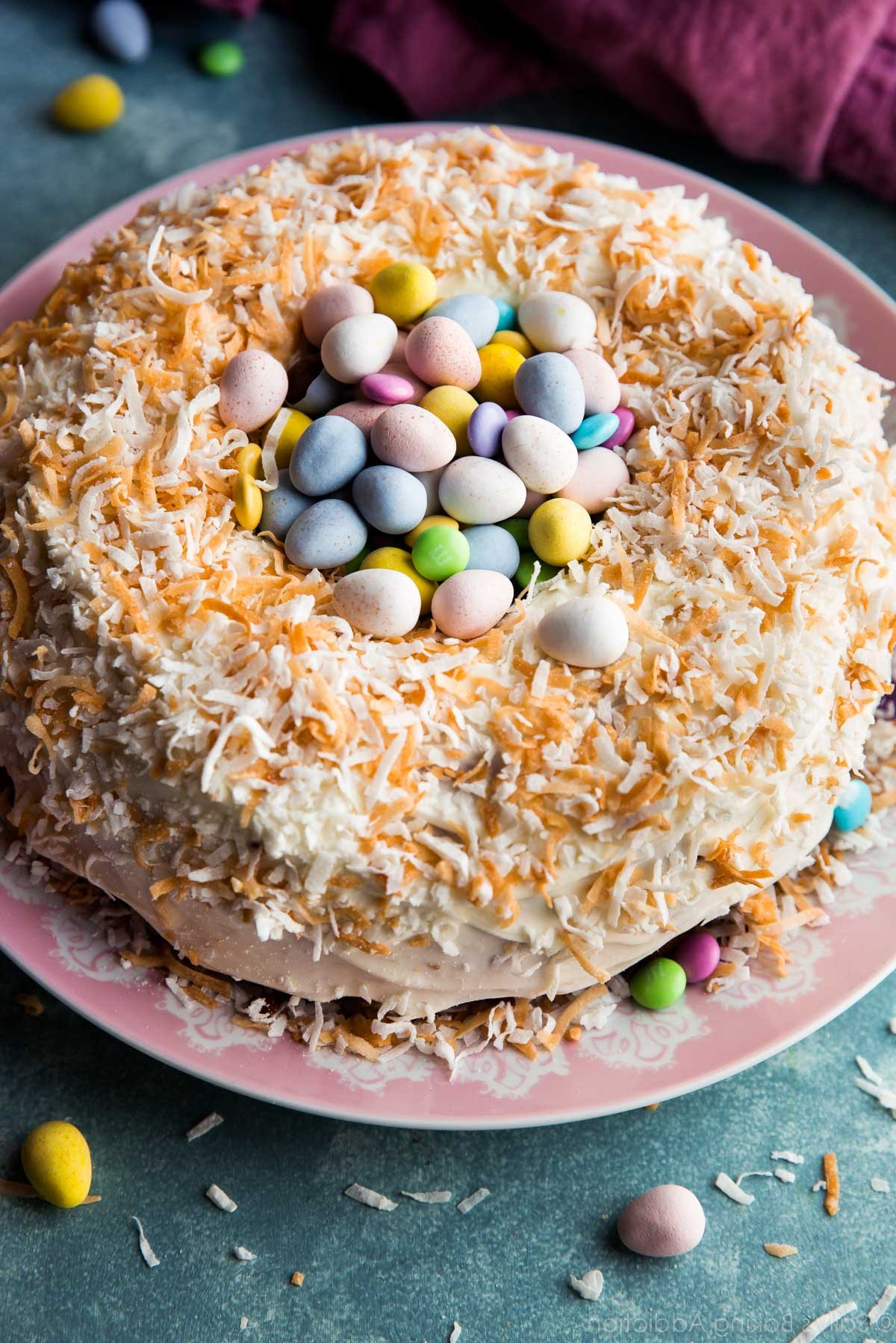 Gâteau facile à préparer pour la fête.