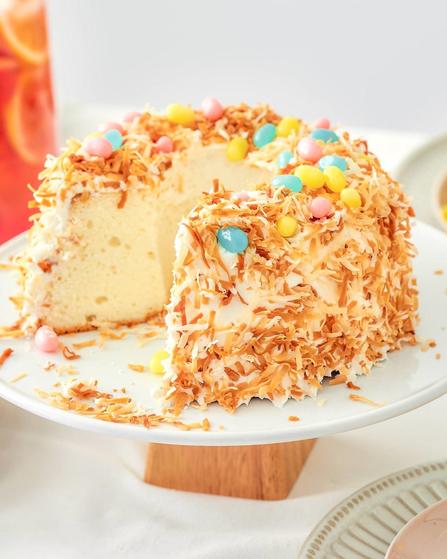 Cake facile à préparer.