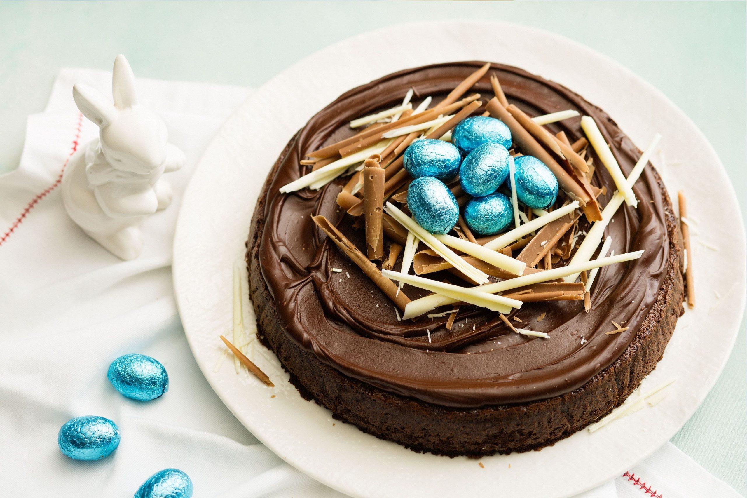 Irrésistible gâteau au chocolat.
