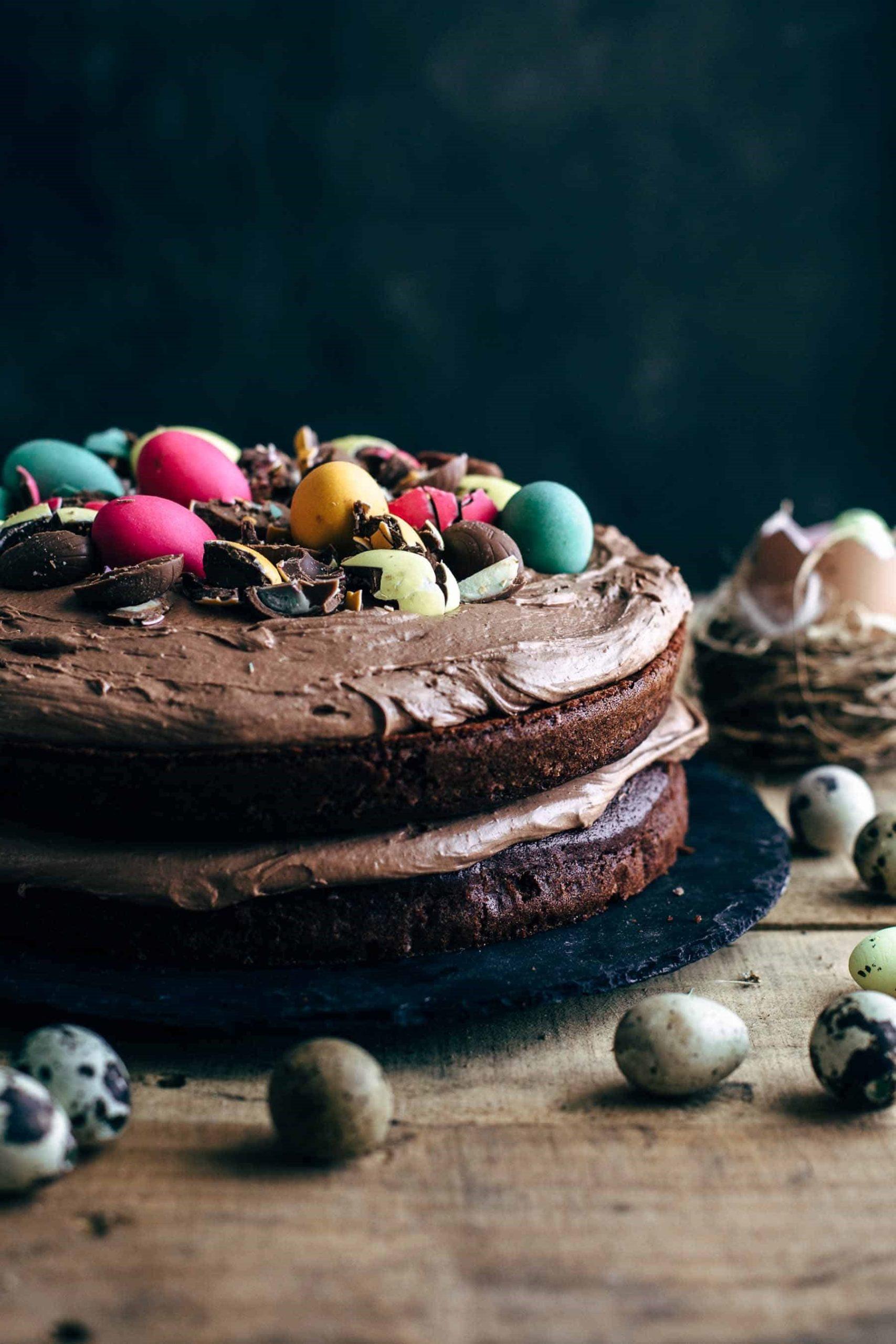 Cake au chocolat facile à préparer.