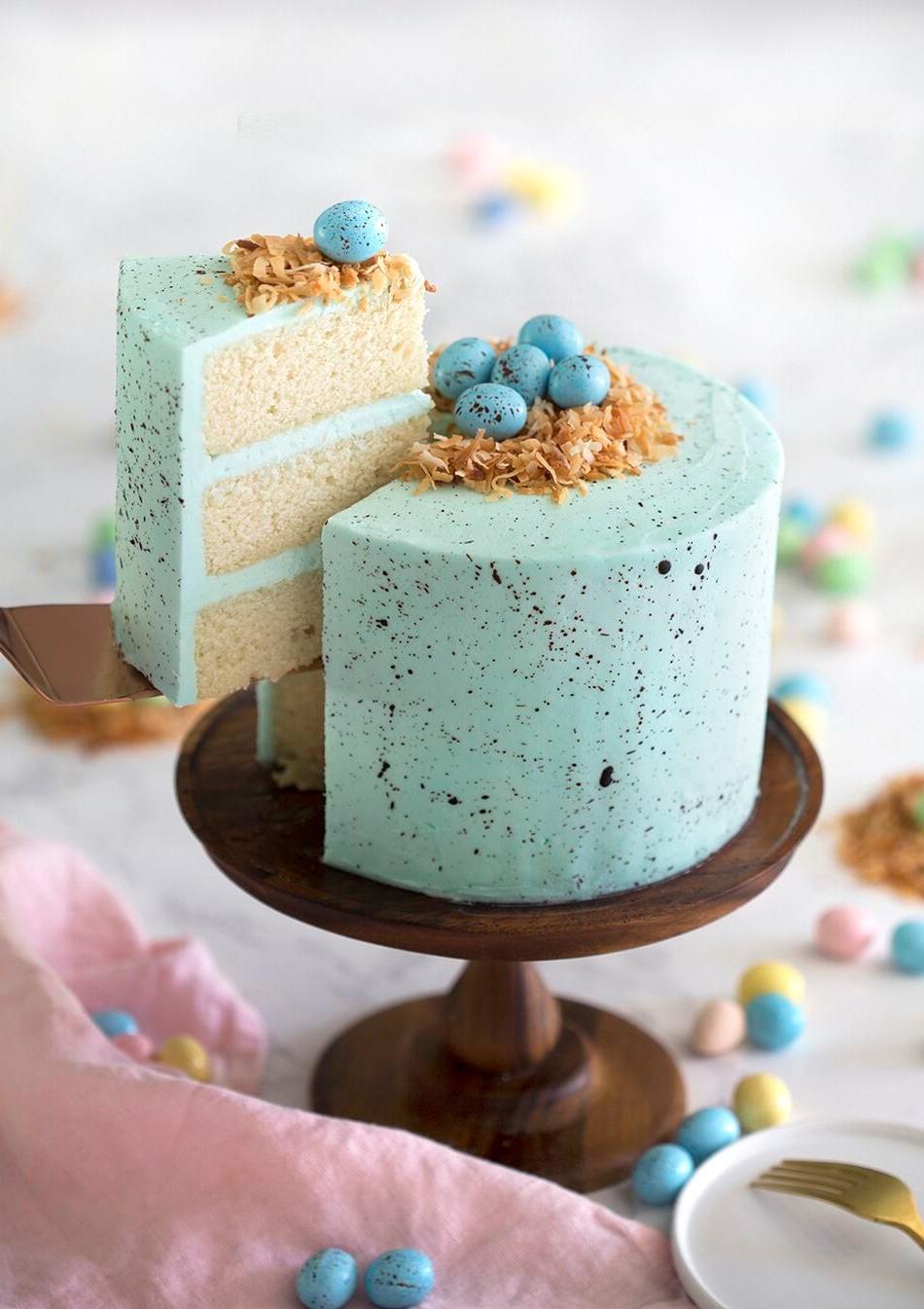 Gâteau de Pâques élégant.