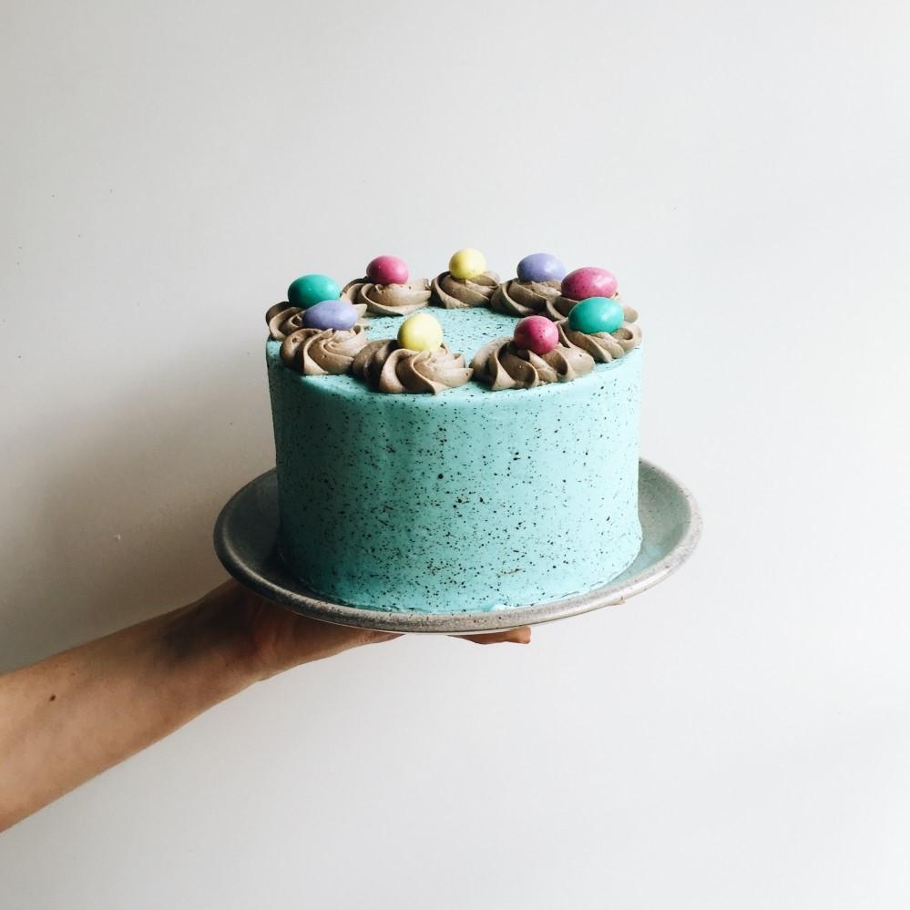 Cake simple et élégant.