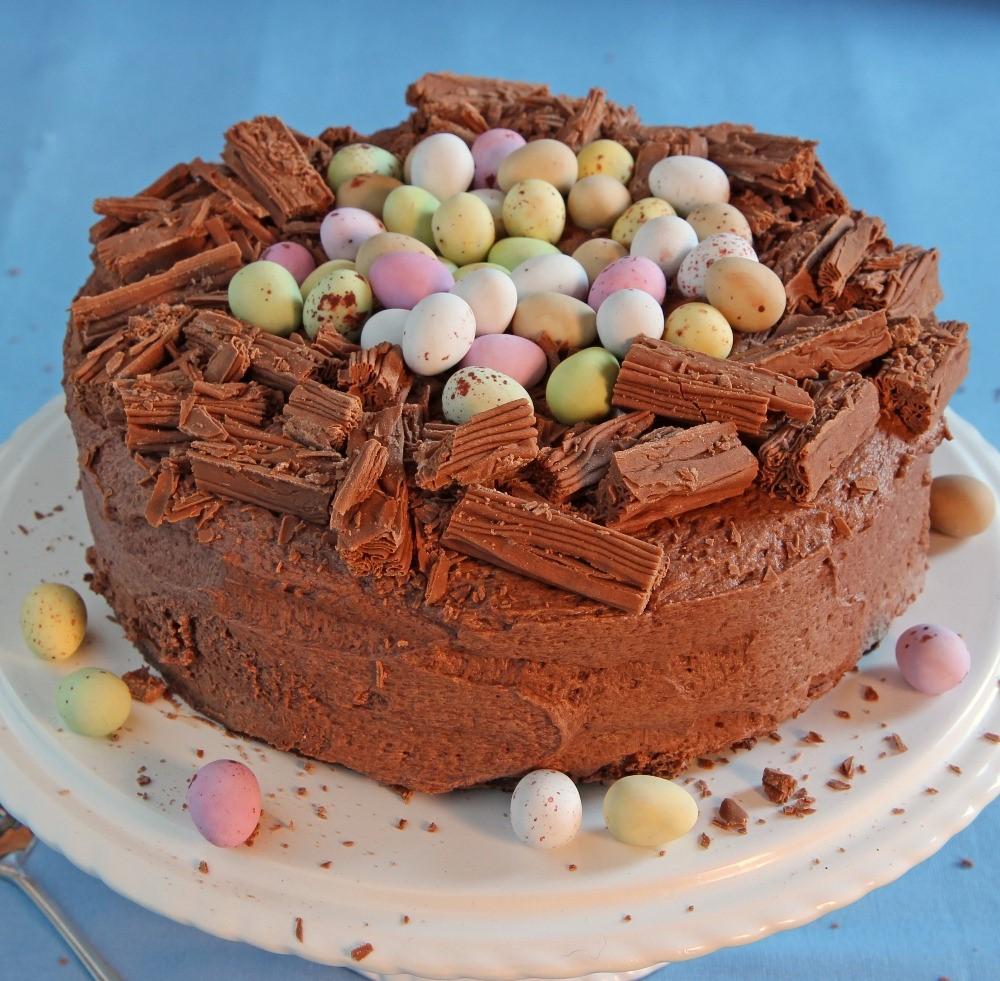 Délicieux cake au chocolat.