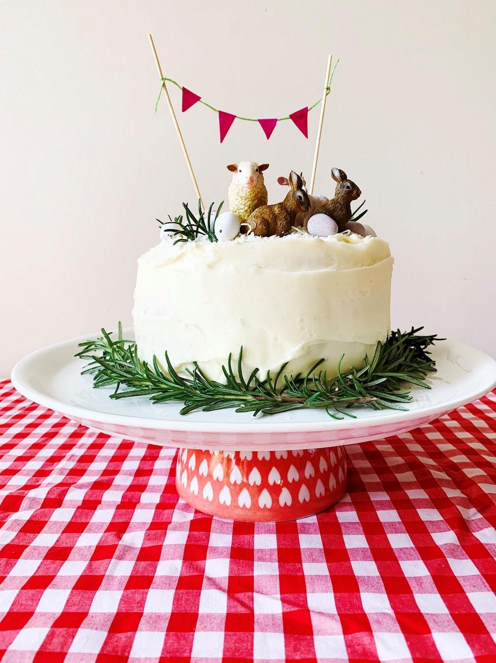 Gâteau créatif pour Pâques.