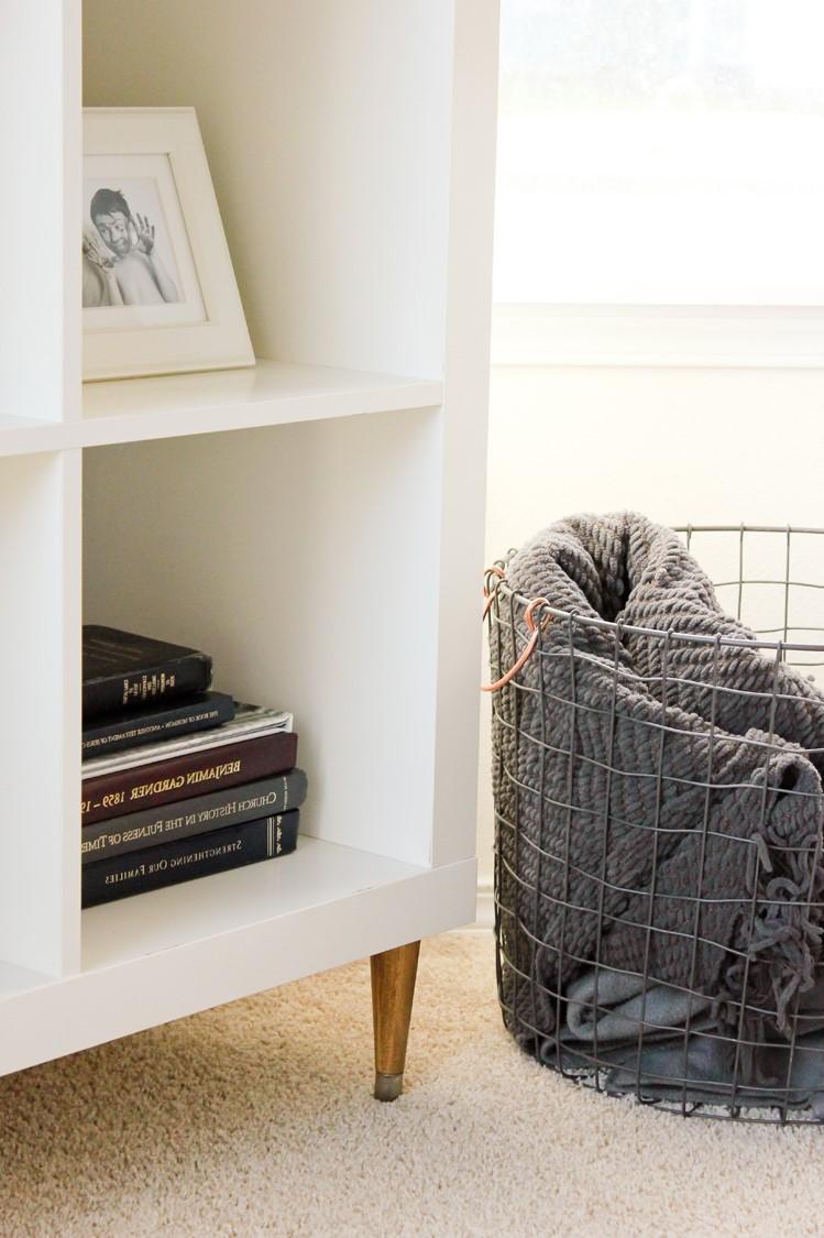 L'étagère Ikea Kallax est parfaite pour votre salon ou chambre à coucher.