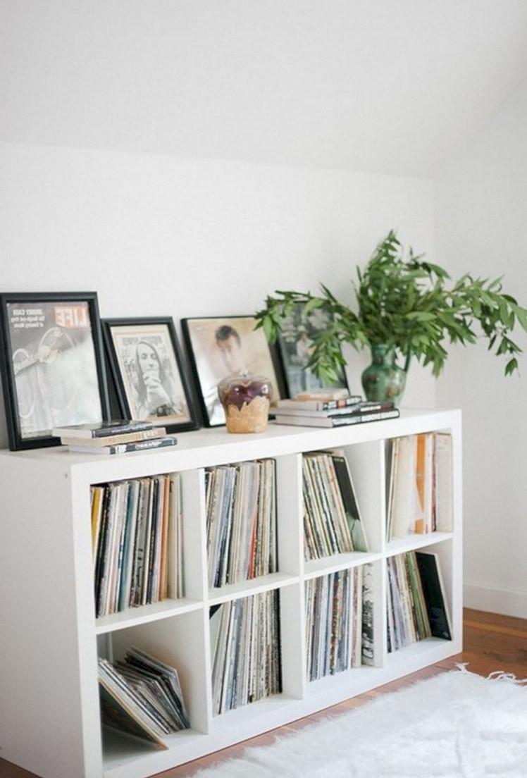Idée de rangement pour votre collection de vinyles.