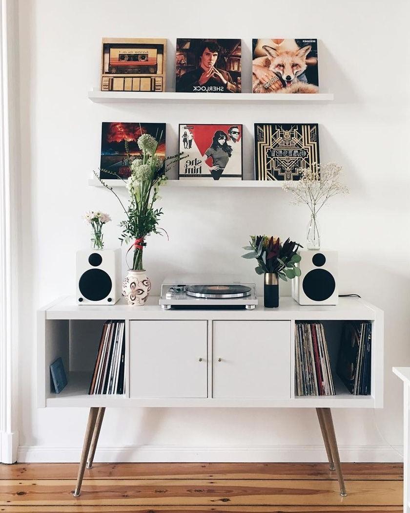 Ikea Kallax pour votre collection de vinyles.