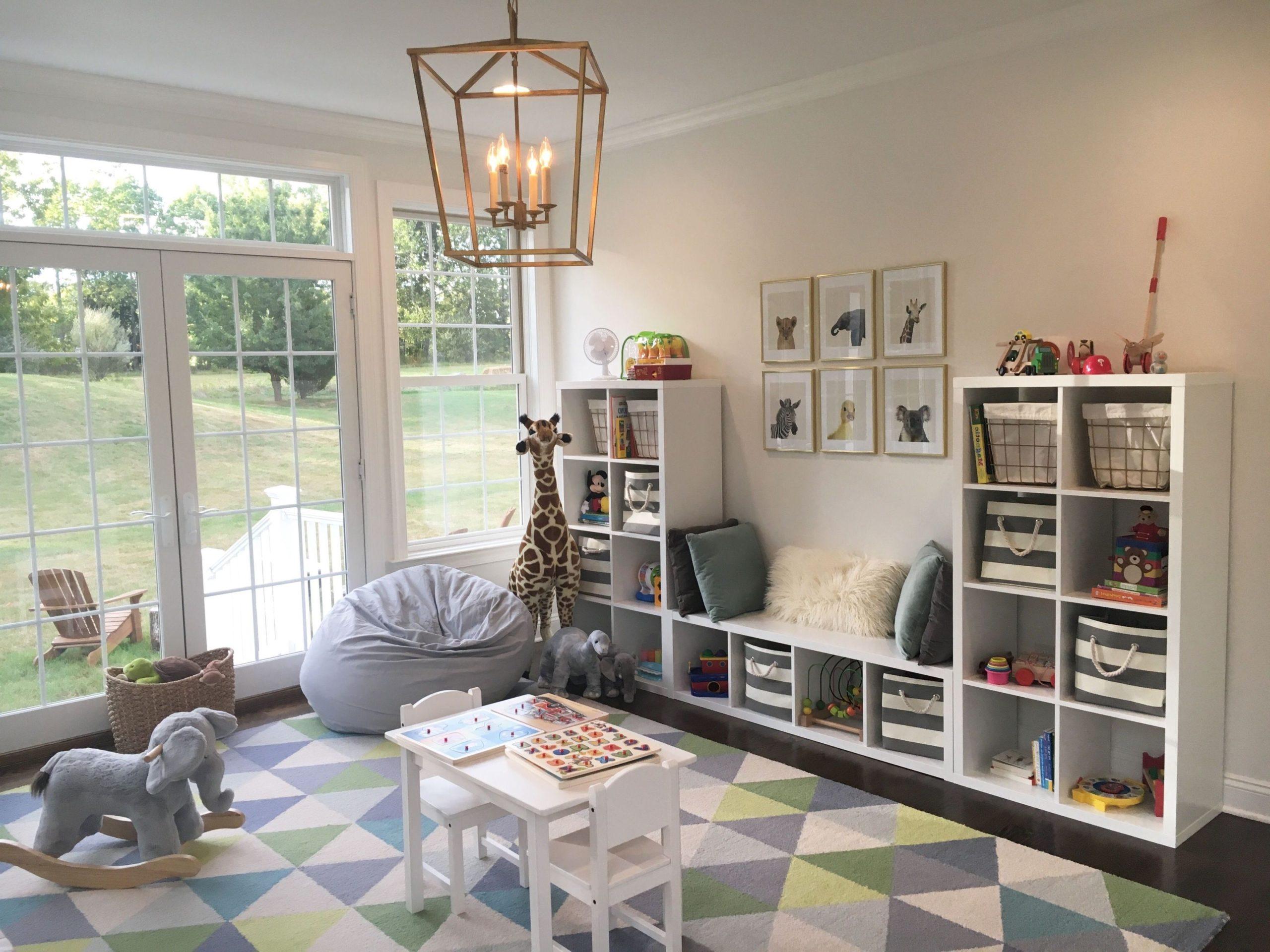 Ikea Kallax: idées pour une chambre d'enfant.
