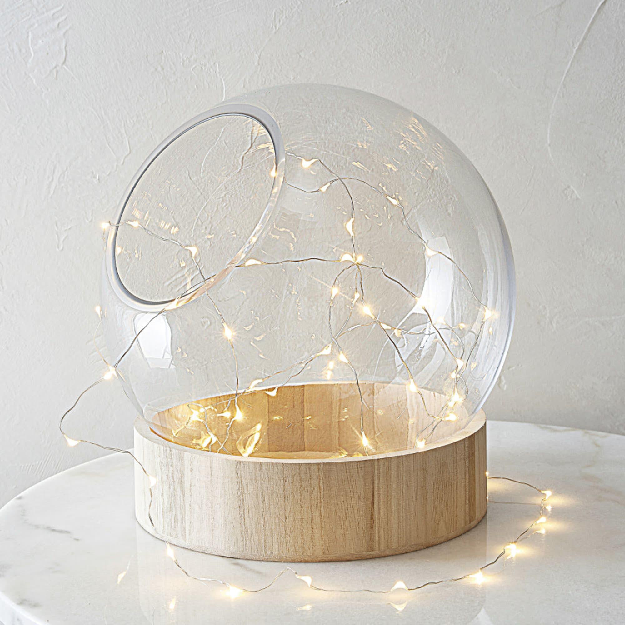 Luminaire Maison du monde - Guirlande lumineuse 60 LED en métal L305 en sphère