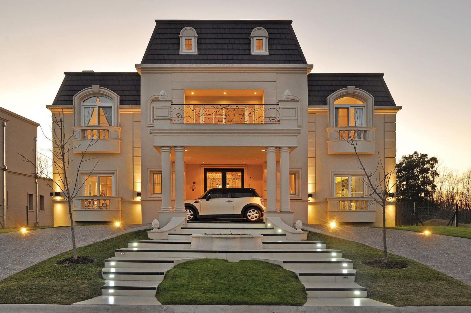 Grande maison individuelle moderne
