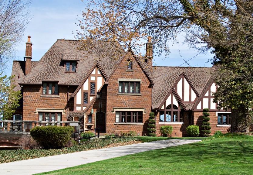Maison de style architectural anglais