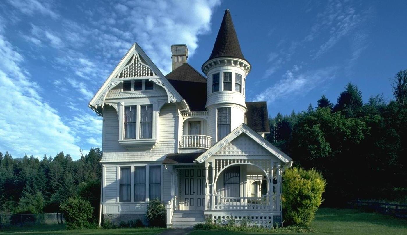 Maison neuve de style architectural Château