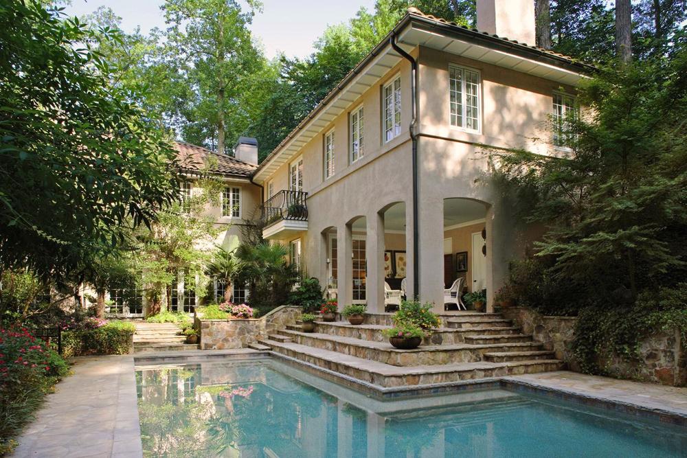 Maison de style méditerranéen