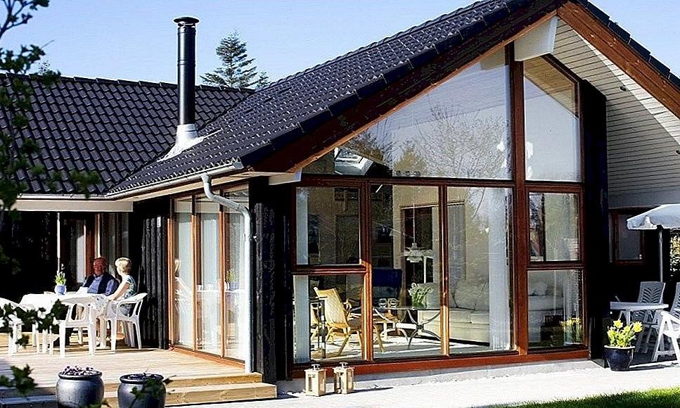Maison de style scandinave