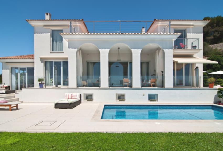 Maison moderne de style méditerranéen