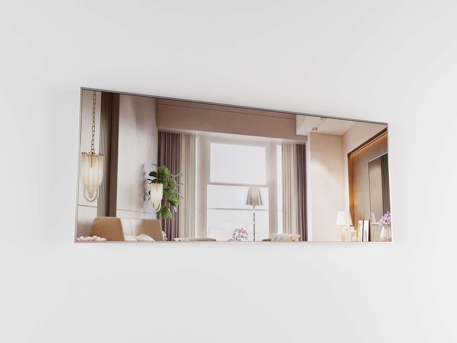 Miroir rectangulaire pour votre salon.