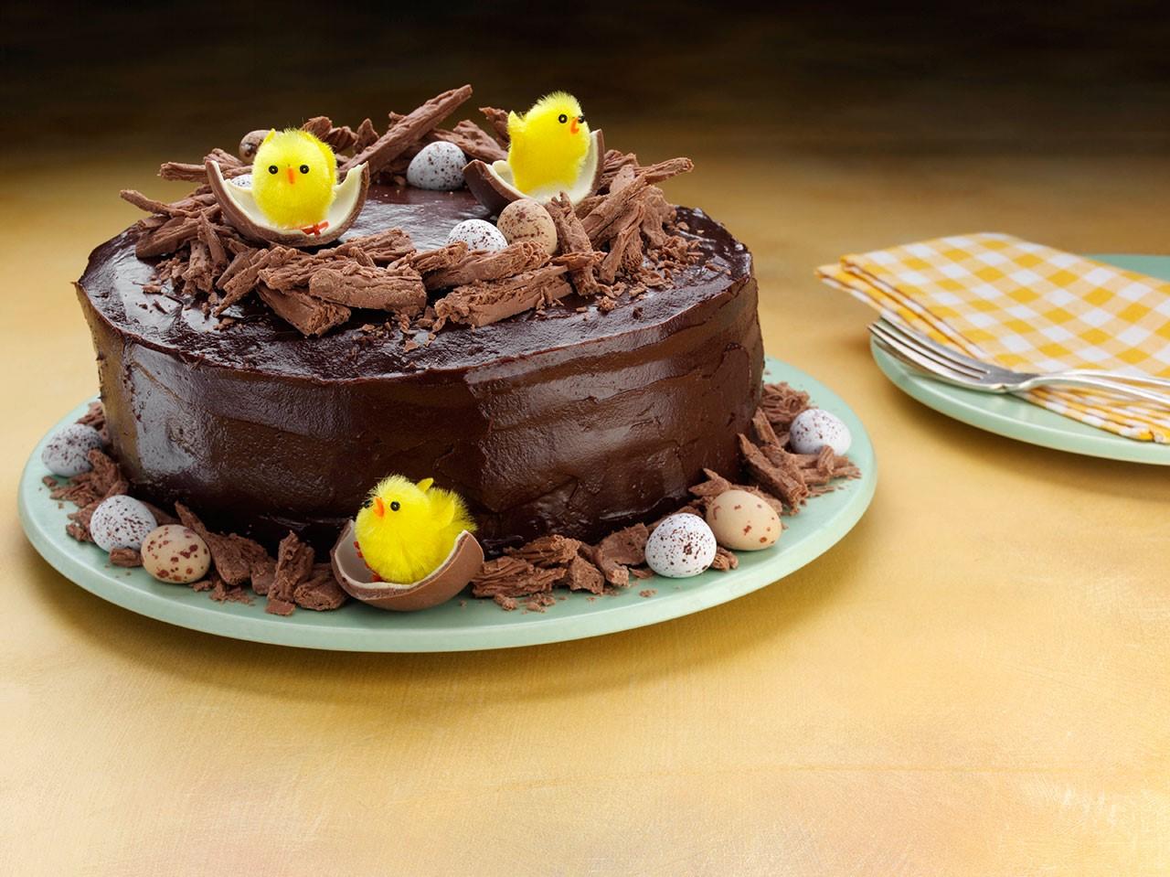 Gâteau festif qui impressionnera vos invités.