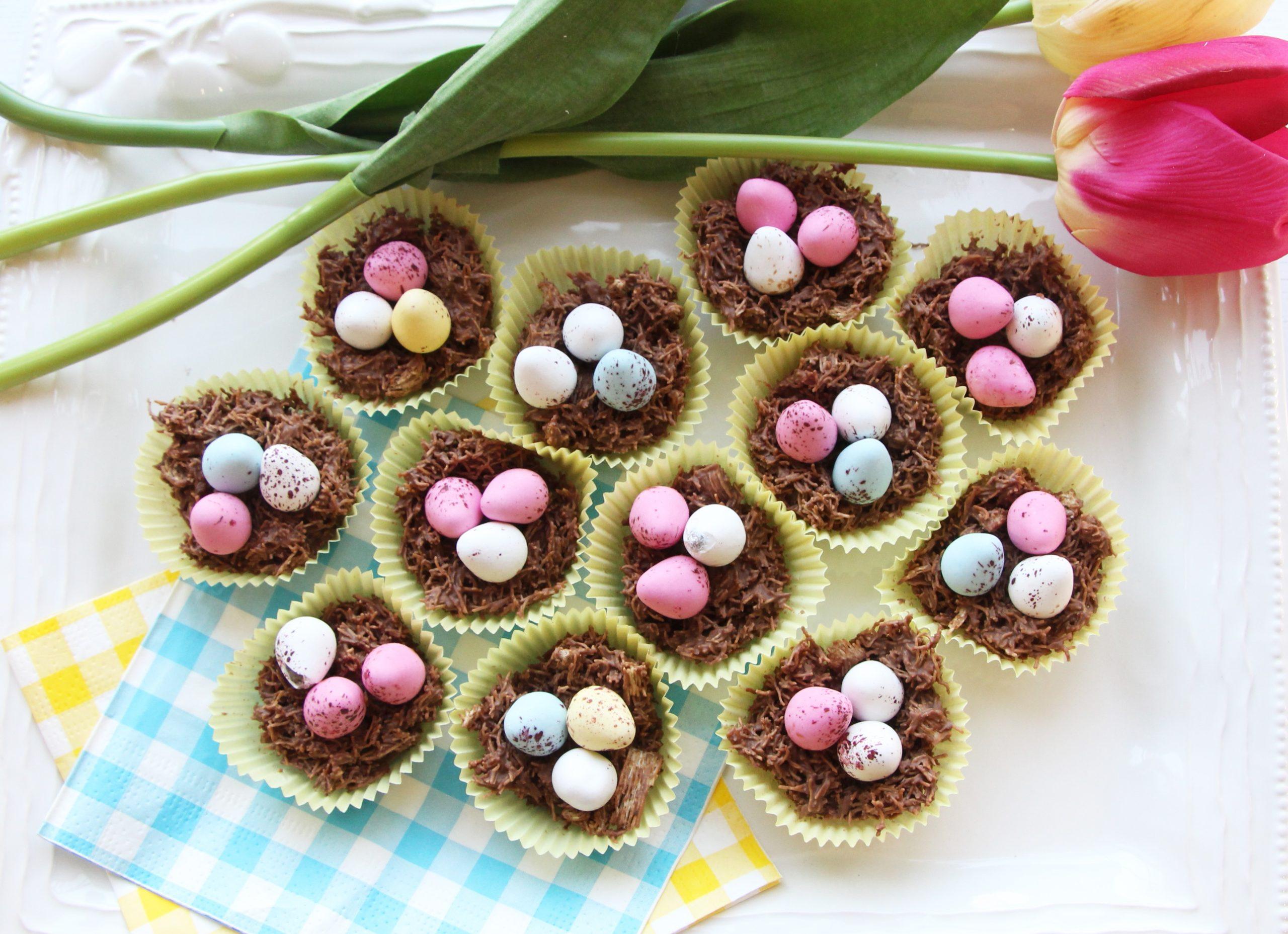 Cupcakes au chocolat.
