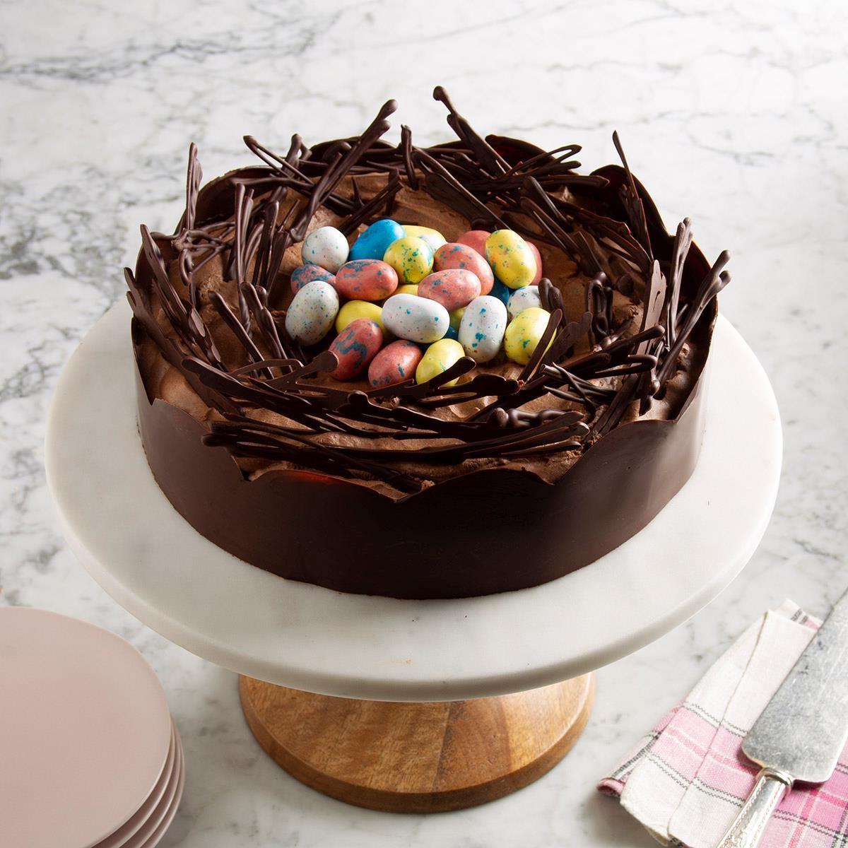 Recette de gâteau Nid de Pâques que vos invités adoreront!